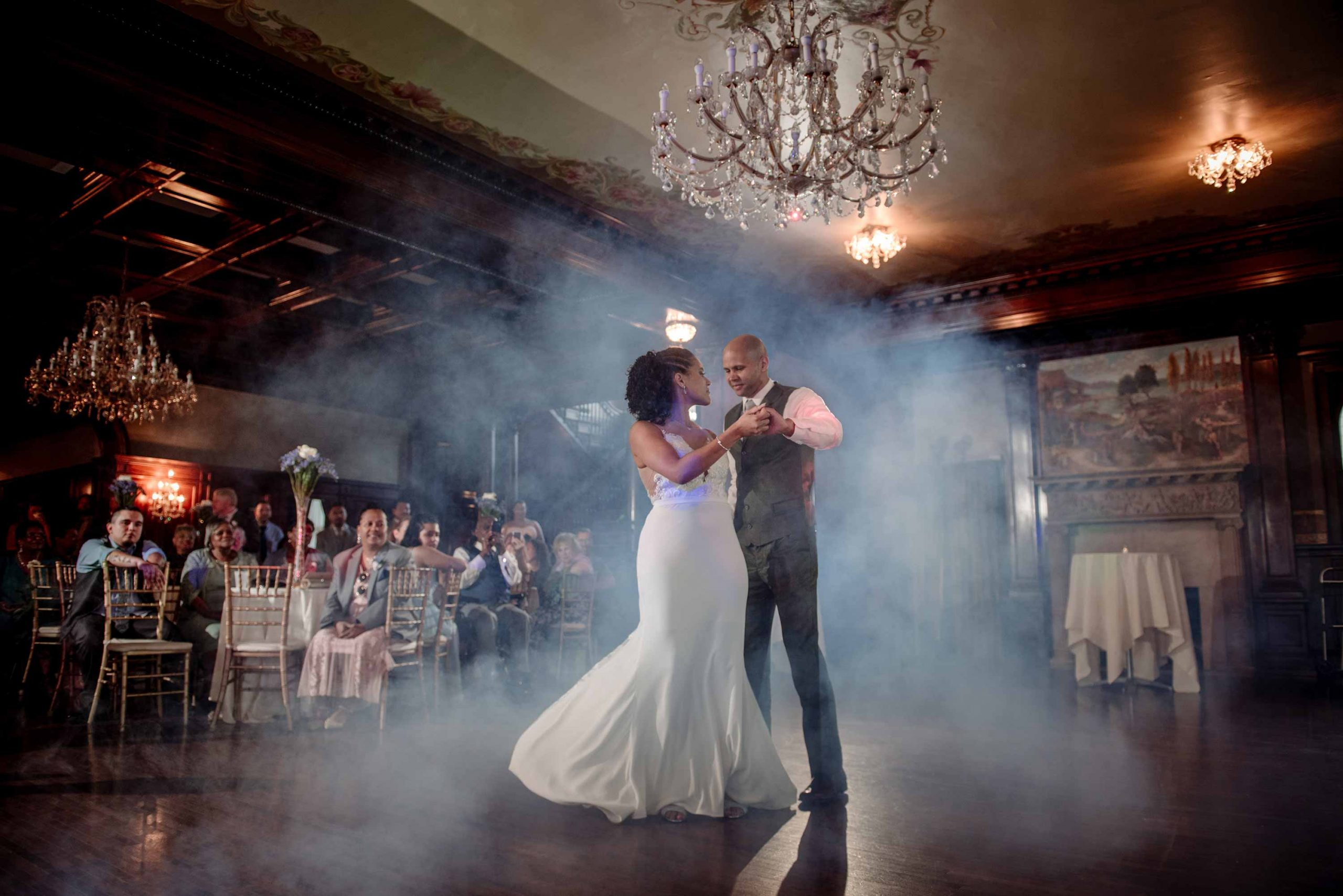 minneapolis photographer best first dance photos at semple mansion