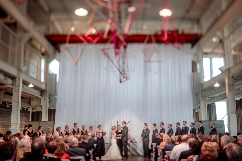 ceremony Machine Shop wedding minneapolis