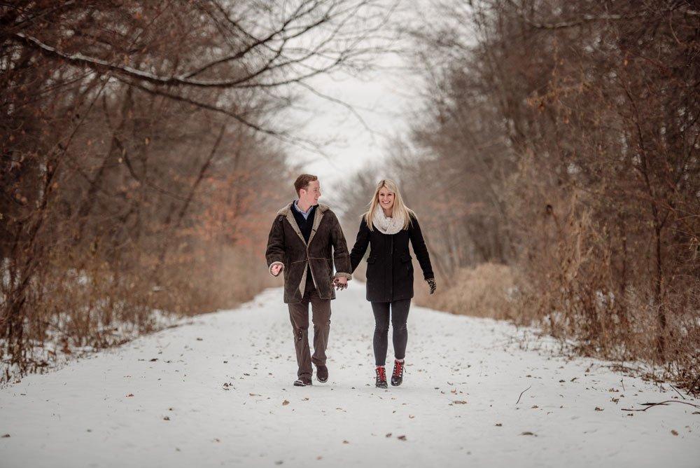 mn winter proposal photographs