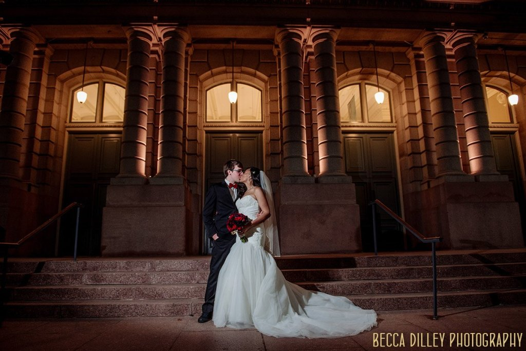 St Louis wedding at Old Post Office