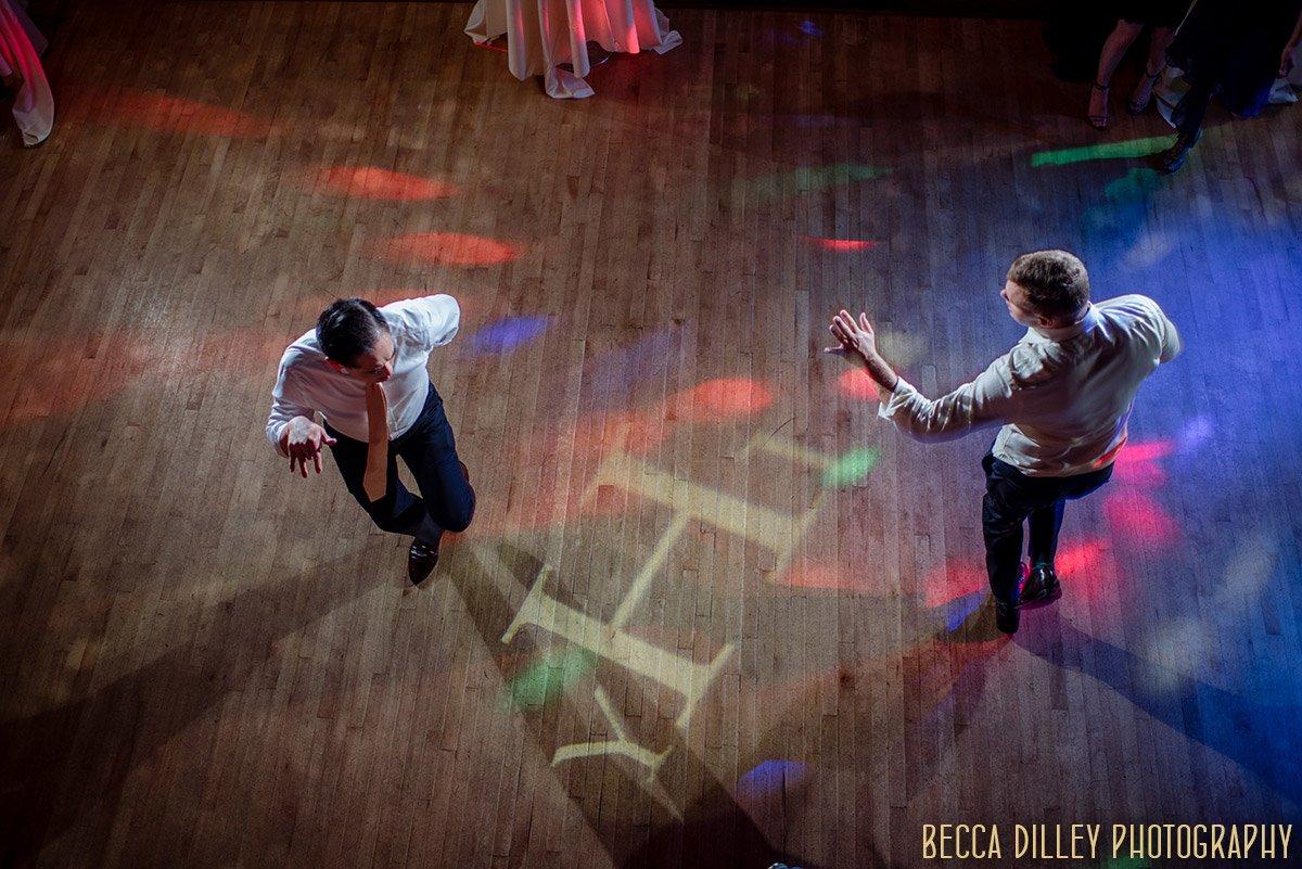 dancing inside minneapolis mansion wedding