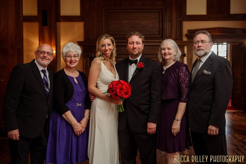 Minneapolis Club family portrait