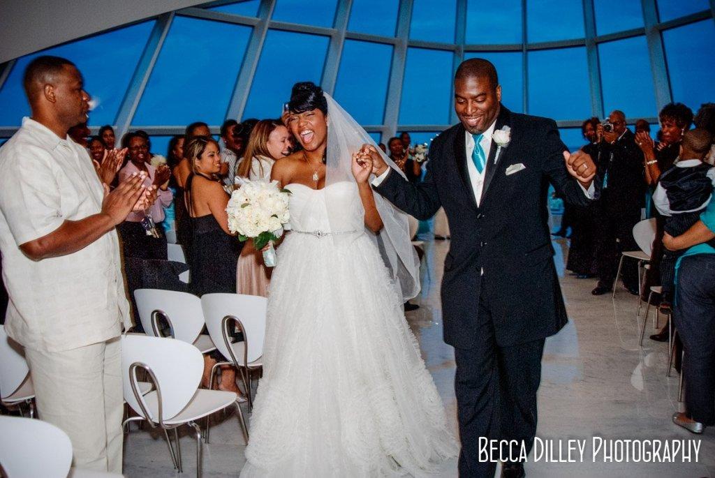 Milwaukee art museum wedding