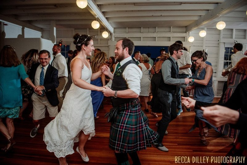 dancing A destination wedding by Acadia National Park in Maine