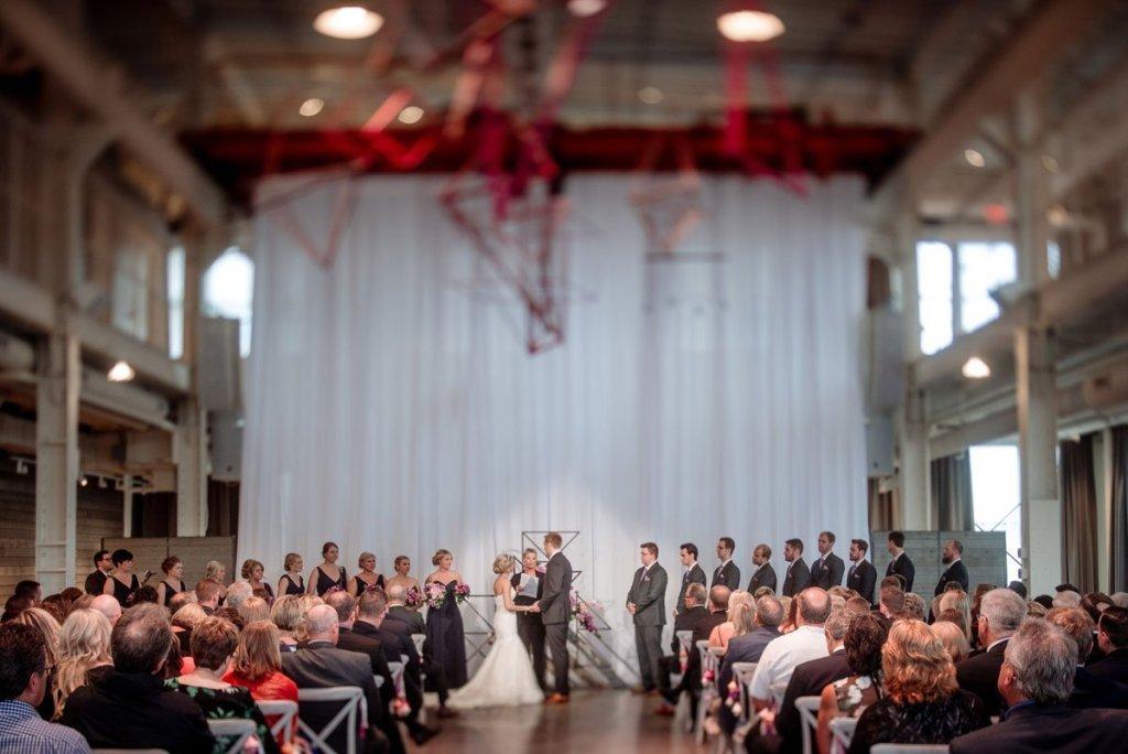 machine shop wedding ceremony