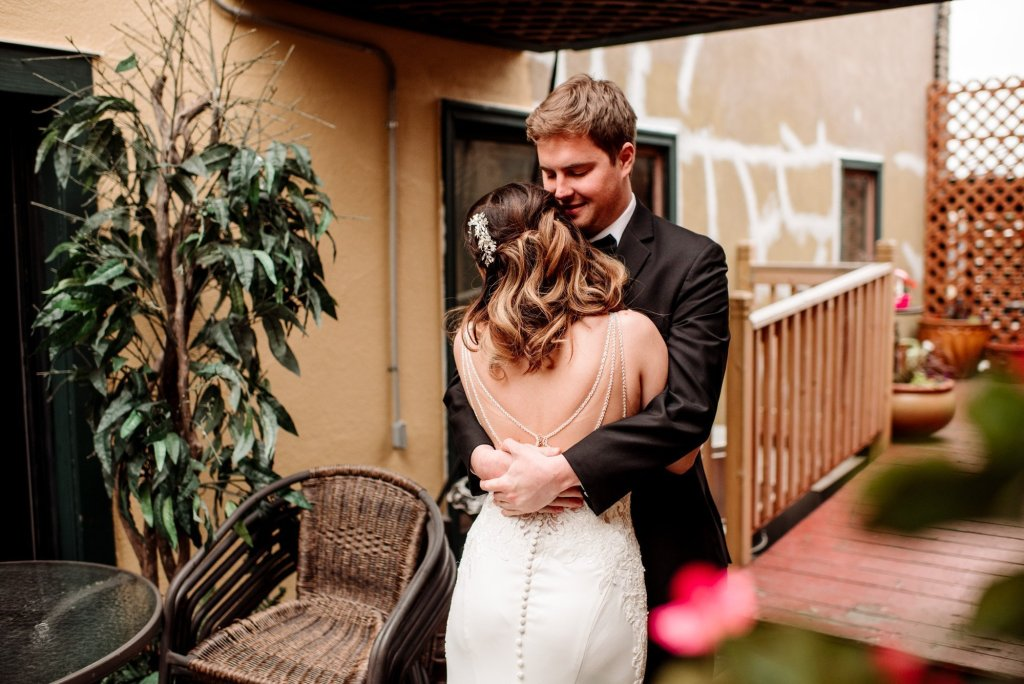first look at loring restaurant wedding