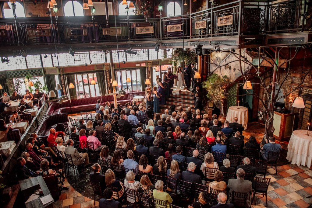 loring restaurant wedding ceremony