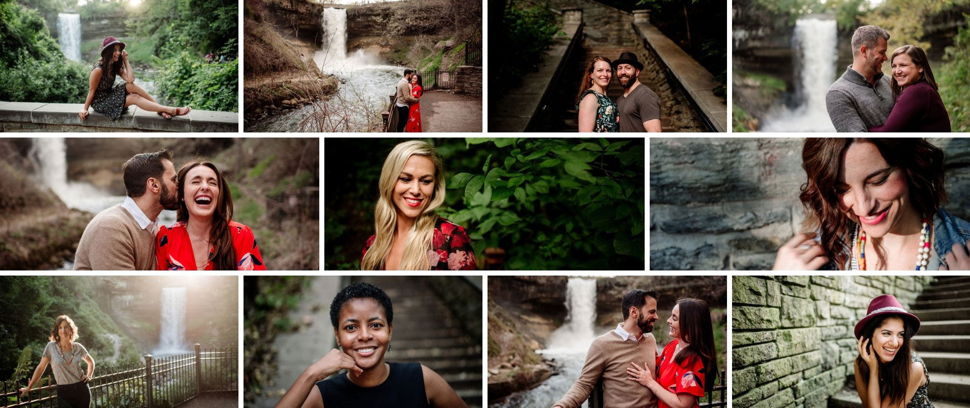minnehaha falls portrait sessions minneapolis header