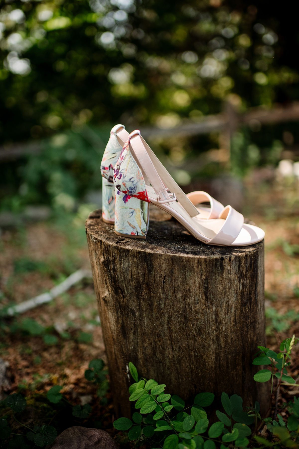decorated shoes voyageur wedding environmental center mn
