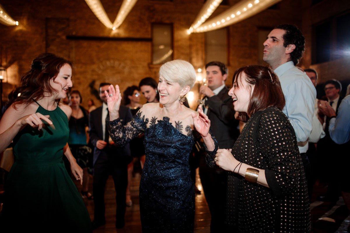mother of the bride dances lumber exchange wedding minneapoils