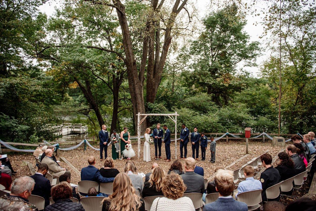 ceremony mn camp wedding