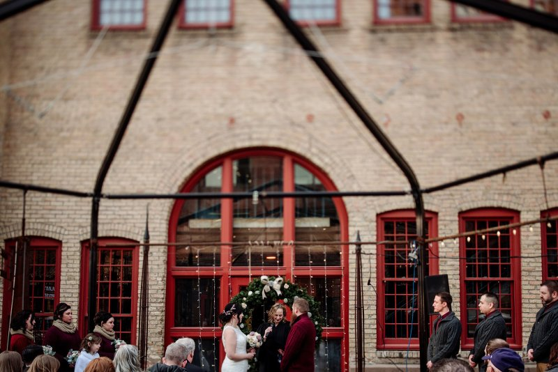 wedding at river room of aster cafe minneapolis