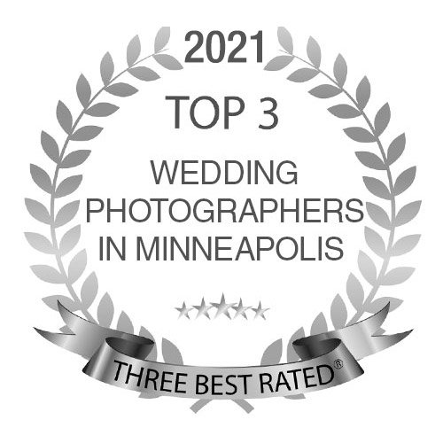 top three wedding photographers in minneapolis recommended