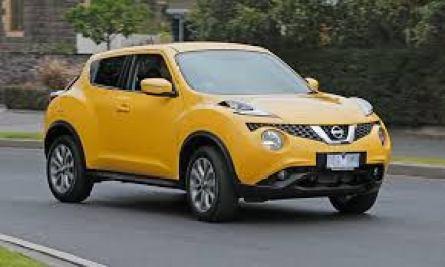 nissan juke yellow