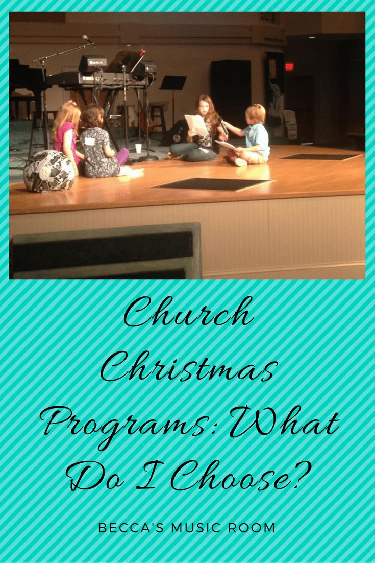 church christmas program what do i choose beccas music room a guide to