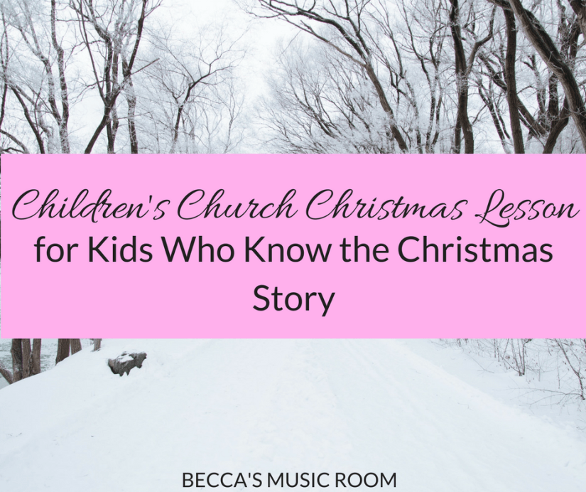 Children's Church Christmas Lesson for kids who know the Christmas story. Would also be a great project for a Bible school English class, youth group, Sunday School, girl scouts, etc. Huron Carol. Becca's Music Room