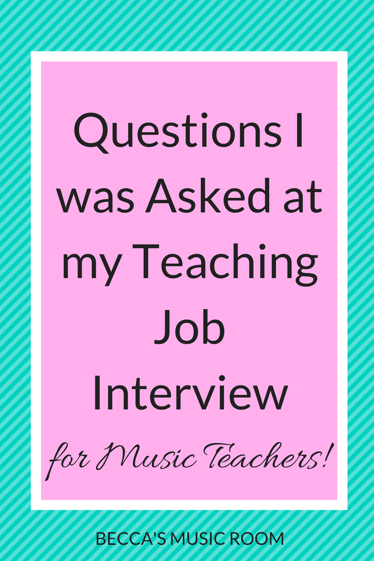 thats what i have i hope you find this helpful what were you asked in your teaching job interview let us know in the comments