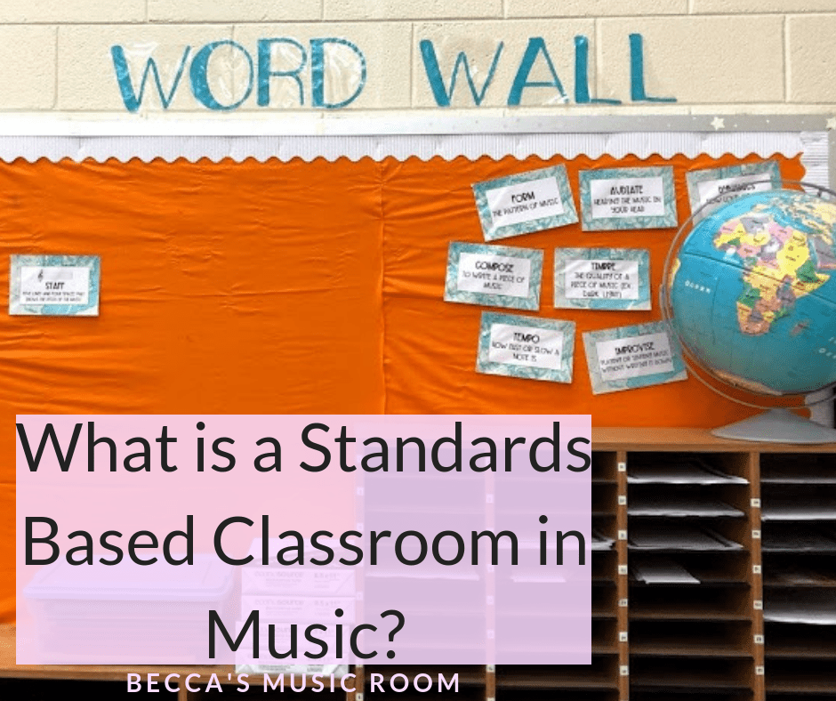Are you being asked to have a Standards Based Classroom-- in music?! When I was first told this was required of me, I had no idea how to create a standards based classroom for my elementary music room. I am sharing all of the tips and tricks and things that should be on the wall of a SBC. Becca's Music Room