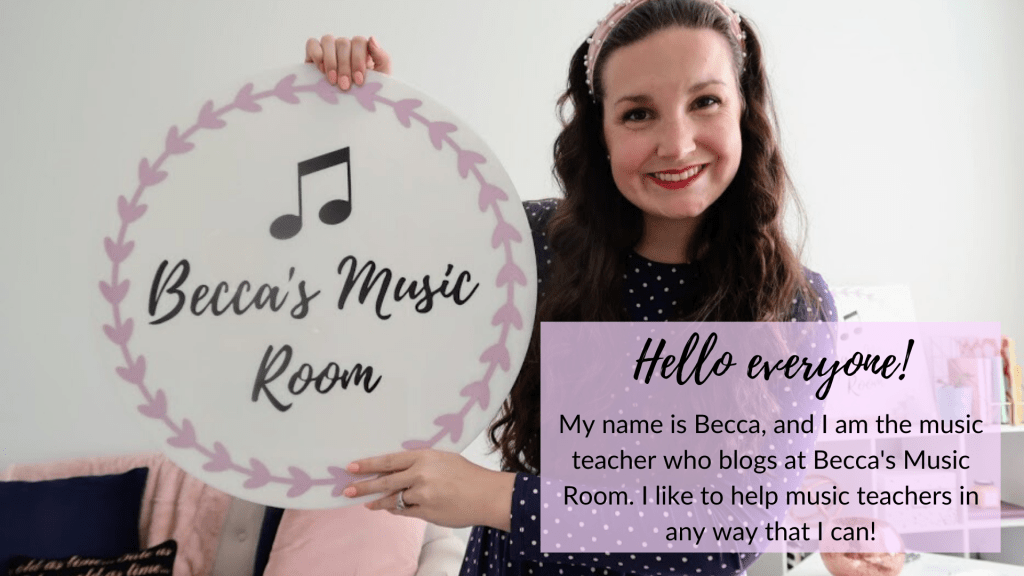 Becca's Music Room: Find lesson ideas, classroom management tips, and everything else you may need for your elementary music classroom all in one place!