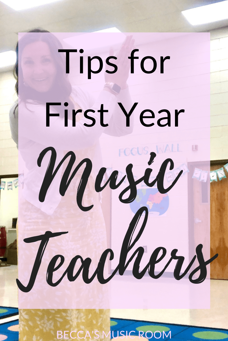 Helpful tips for new elementary music teachers. First year general music teachers face a lot of difficulties-- this is how to get ready for your first year! Becca's Music Room