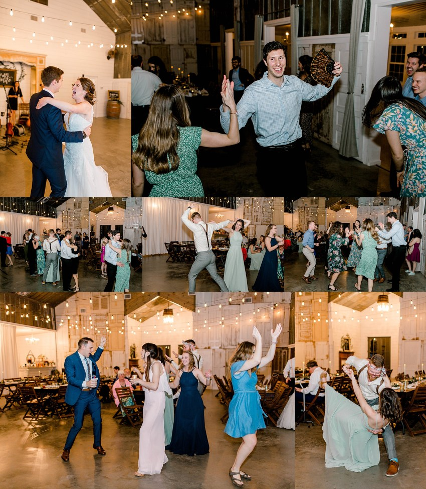 Peach and Sage Spring Wedding (Axtell, Texas)