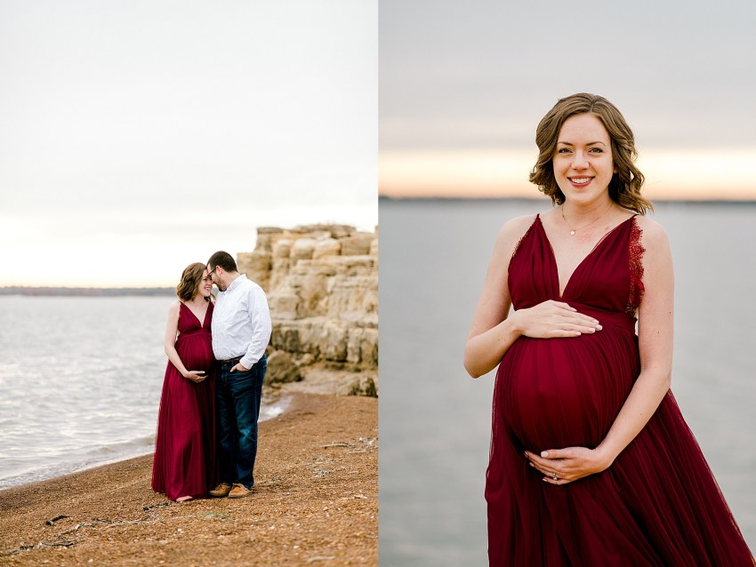 Lakeside Maternity Session (Grapevine, Texas) | Becca Sue Photography - beccasuephotography.com