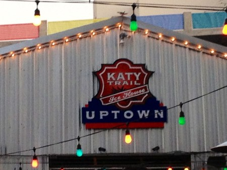 Nothing like an afternoon on the Katy Trail...drinking, that is.