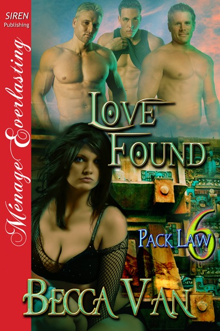Pack Law 6 – Love Found – Blurb