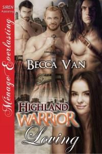 Highland Warrior Loving by Becca Van