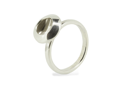 Becca WIlliams Mini Estuary Earrings Etched Silver Ring 72dpi