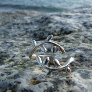 Leaf Wrap Around Ring