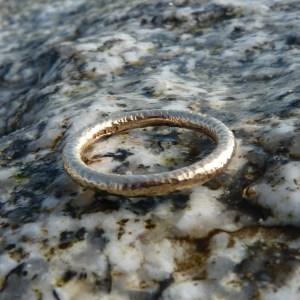 Weathered Wedding Ring