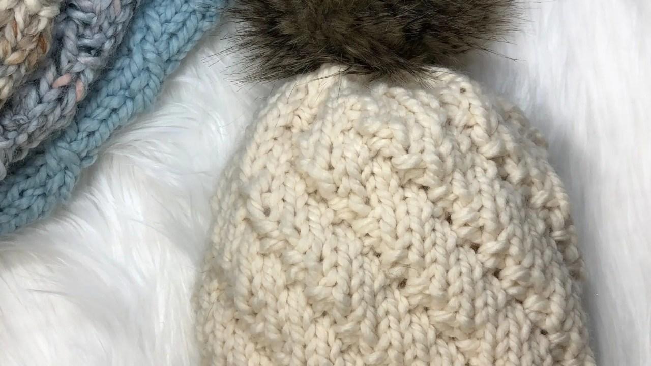 Free Knitting Pattern: Headspin Beanie Winter Hat