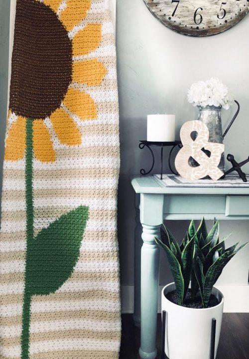 Crochet Blanket Pattern: Sunflower Memories is AVAILABLE NOW