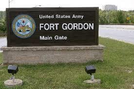 Fort Gordon Main Gate