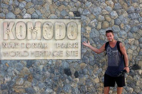 Andra dagen på vår tur kom vi till ön som gett nationalparken och ödlorna sitt namn. Komodo.