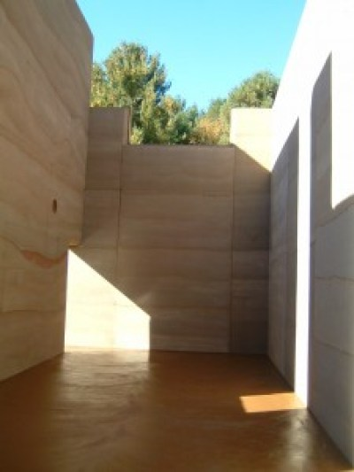 Rammed Earth construction interior walls first and second floor