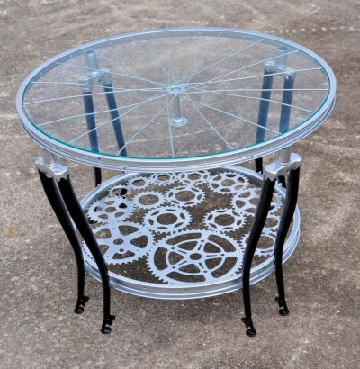 The ReCYCLEr — Furniture made from old bicycles