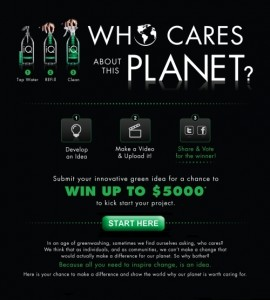 "iQ Cleaners' New Contest: ""Who Cares About This Planet?"""