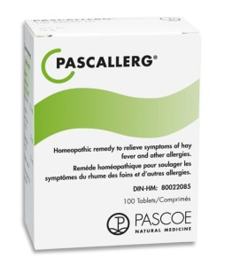 Pascallerg: homeopathic remedy to treat allergies