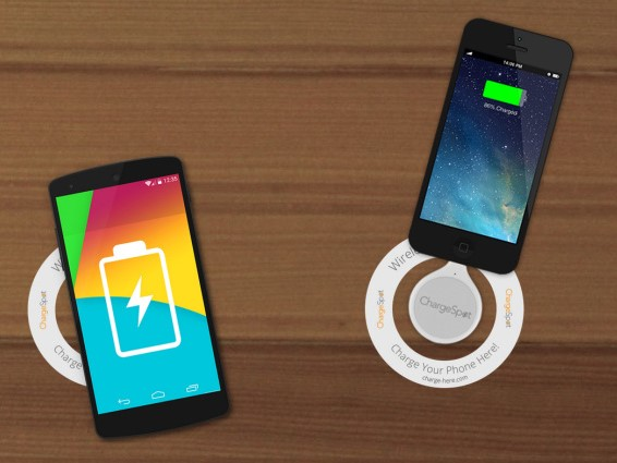 ChargeSpot – wireless charging for your phone