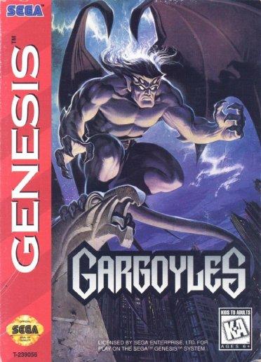 the gaarghoyles videgame