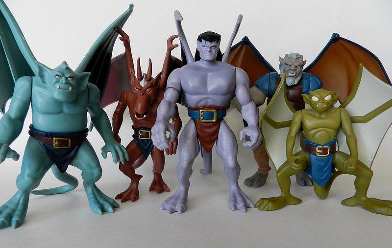 the gargoyles action figures serie 1