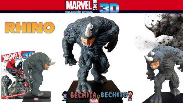 Rhino Marvel Heroes 3D