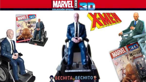 Profesor Xavier Marvel Heroes 3D Salvat