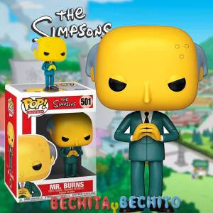 Funko Pop Mr Burns 501 The Simpsons