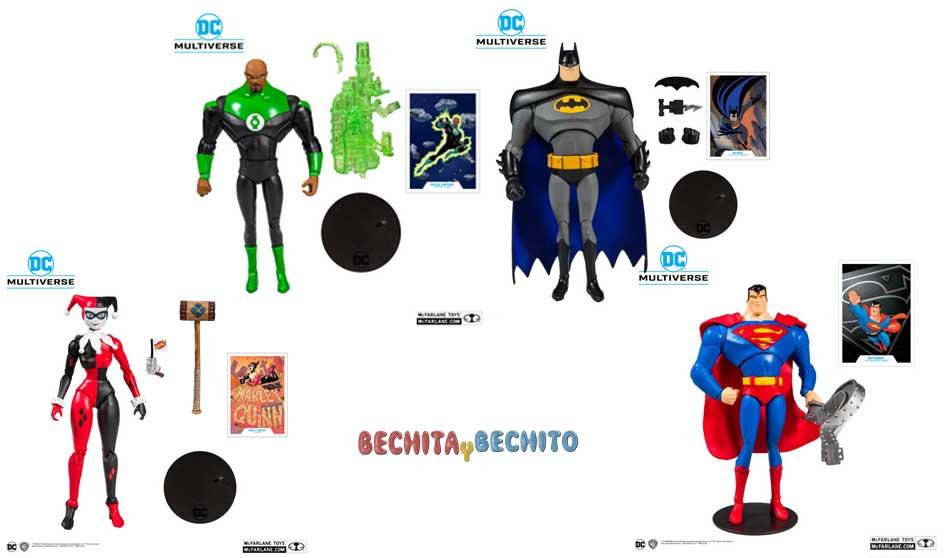 la-guerra-por-las-figuras-de-accion-2020-mc-farlane-toys-bruce-timm-animated-batman-superman-green-lantern-harley-quinn