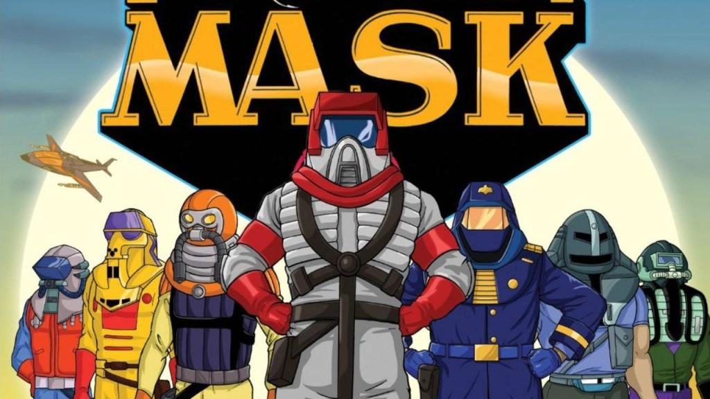La película de MASK llega al cine de la mano de Paramount.