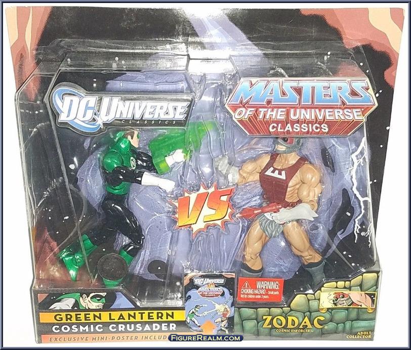 DC Universe vs Masters of the Universe GreenLanternZodac 1