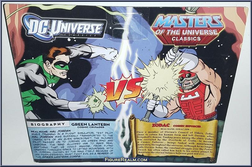 DC Universe vs Masters of the Universe GreenLanternZodac Back